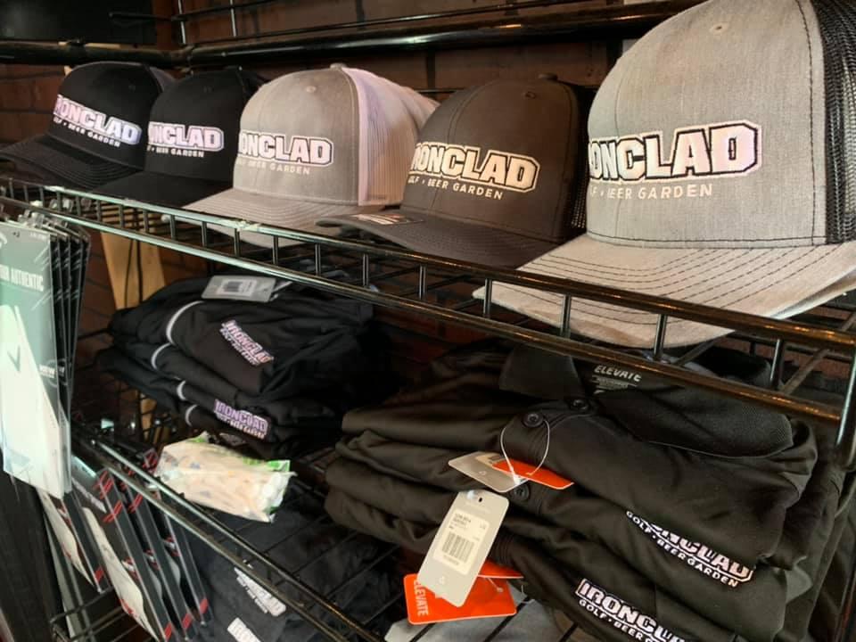 View of Ironclad merchandise